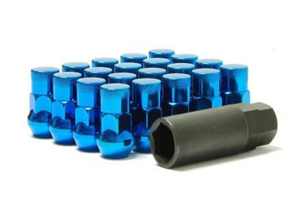 Muteki SR35 Lug Nuts Blue M12x1.25 Closed