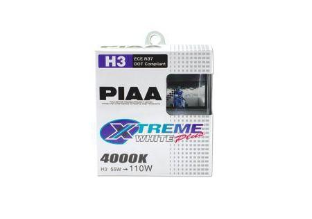 PIAA H3 Xtreme White Plus Bulbs Twin Pack