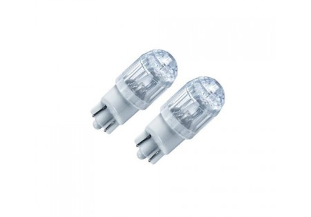 PIAA T10 Hyper Dimple Super LED Bulb Twin Pack