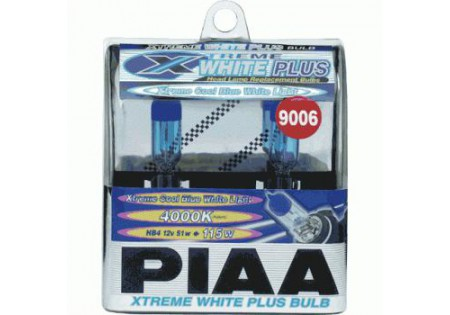 PIAA 9006 Xtreme White Plus Bulbs Twin Pack