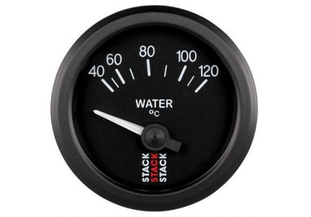 STACK 52mm Electric Water Temperature Gauge - 40-120C