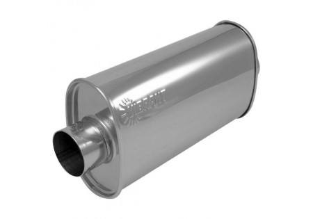 Vibrant StreetPower Oval Muffler 3in Center-Center