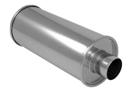 Vibrant StreetPower Round Muffler 2.5in