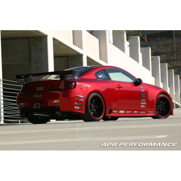 apr performance gtr35 widebody aerodynamic kit infiniti. Black Bedroom Furniture Sets. Home Design Ideas