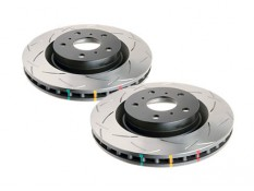 DBA 4000 T3 Slotted Front Brake Rotors