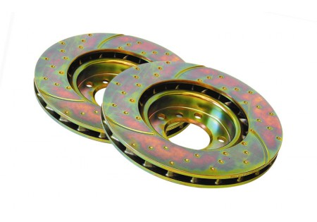 EBC 3GD Sport Rear Brake Rotors