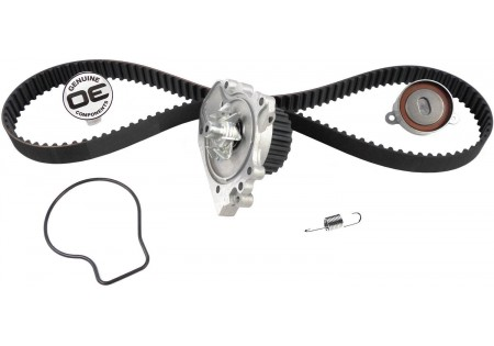 Gates Timing Belt Component Kit w/ Water Pump