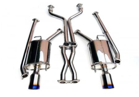 Invidia Q300 Rolled Titanium Tip Catback Exhaust
