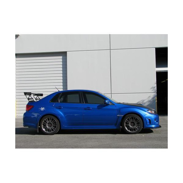 apr performance gtc  adjustable wing subaru sti sedan