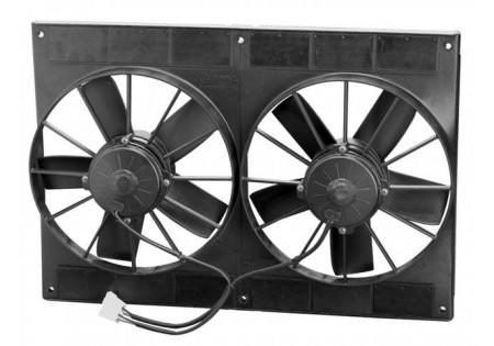 SPAL 11'' Paddle Blade High Performance Fan 12V Puller