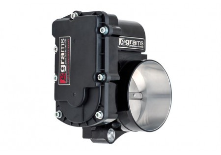 Grams Performance Throttle Body Black Drive-By-Wire