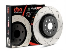 DBA 4000 T3 Slotted Brake Rotor